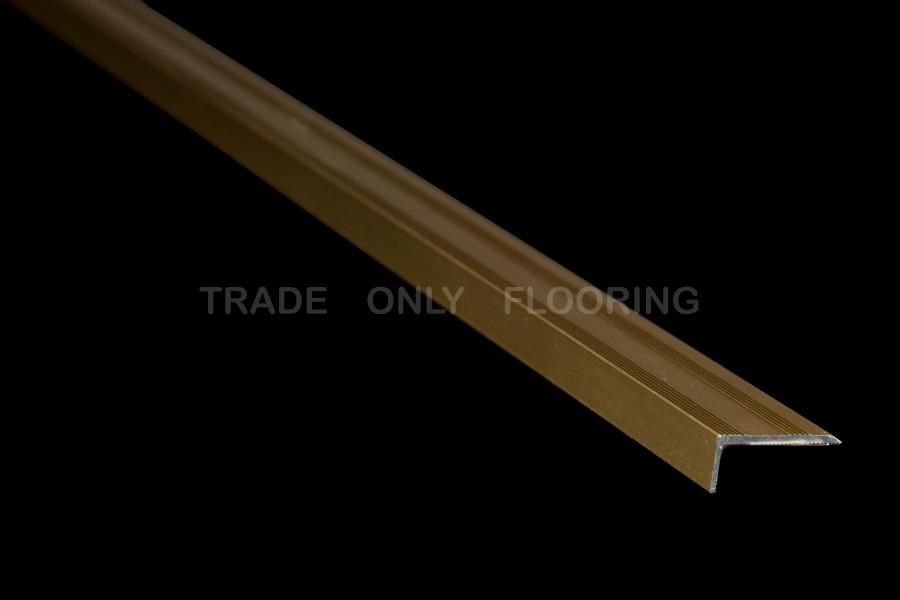 Stick Down Edge Profile In Matt Gold 9mm Just 239 191 189 77 93