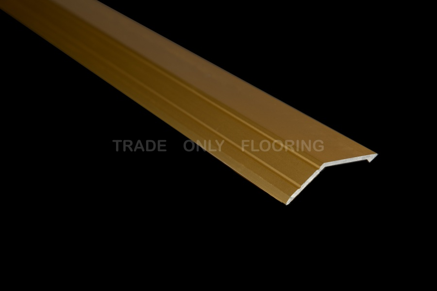 Stick Down Sloping Edge Profile In Matt Gold 14mm From