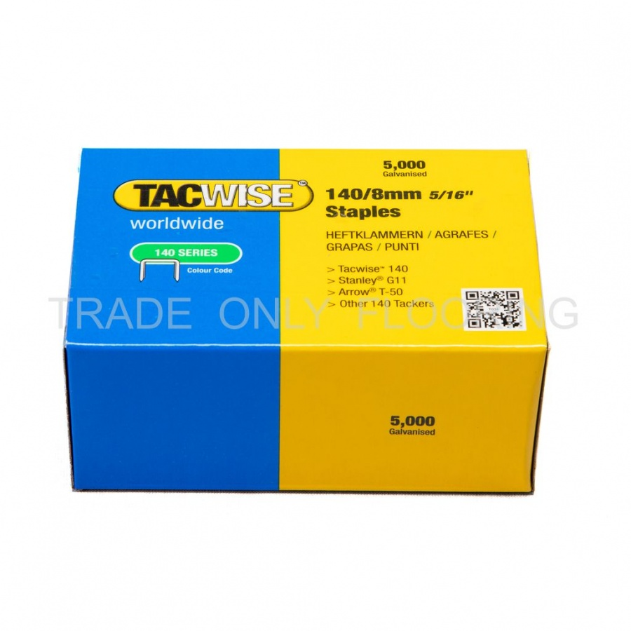 Staples 140 Series 8mm Pack Of 5000 Trade Only