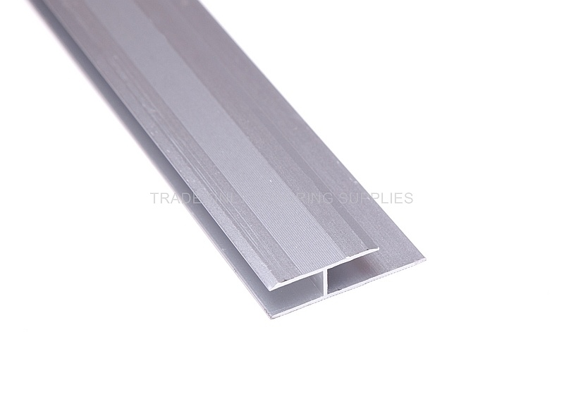 Joint Cover 8mm Matt Silver 2 7m X 10 Lengths Trade