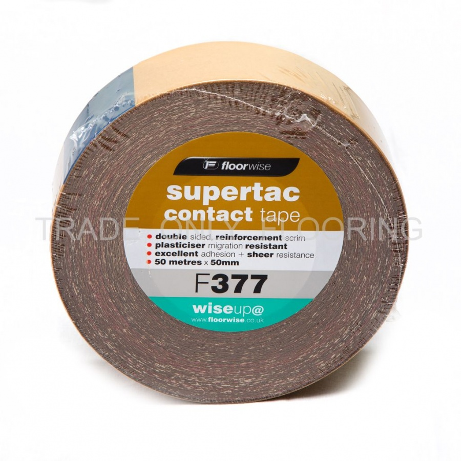Contact Tape 50mm X 50m Trade Only Flooring Supplies