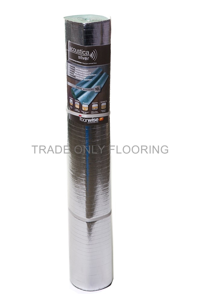 Acoustica Silver Trade Only Flooring Supplies