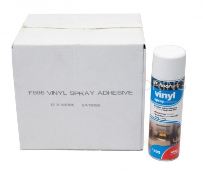 Vinyl Spray Adhesive (500ml x 12)