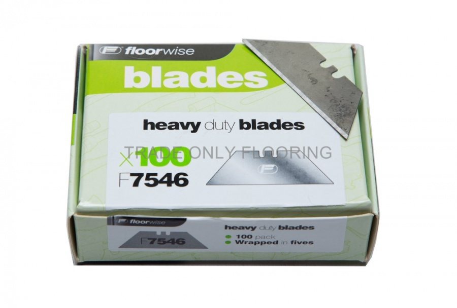 Blades - Heavy Duty Straight (100 pack)