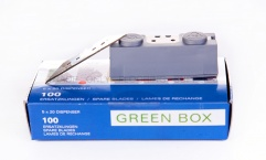 Blades - Janser Green Box Straight Blades 60mm (100 pack)