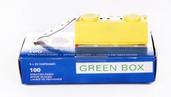Blades - Janser Green Box Hooked Blades (100 pack)