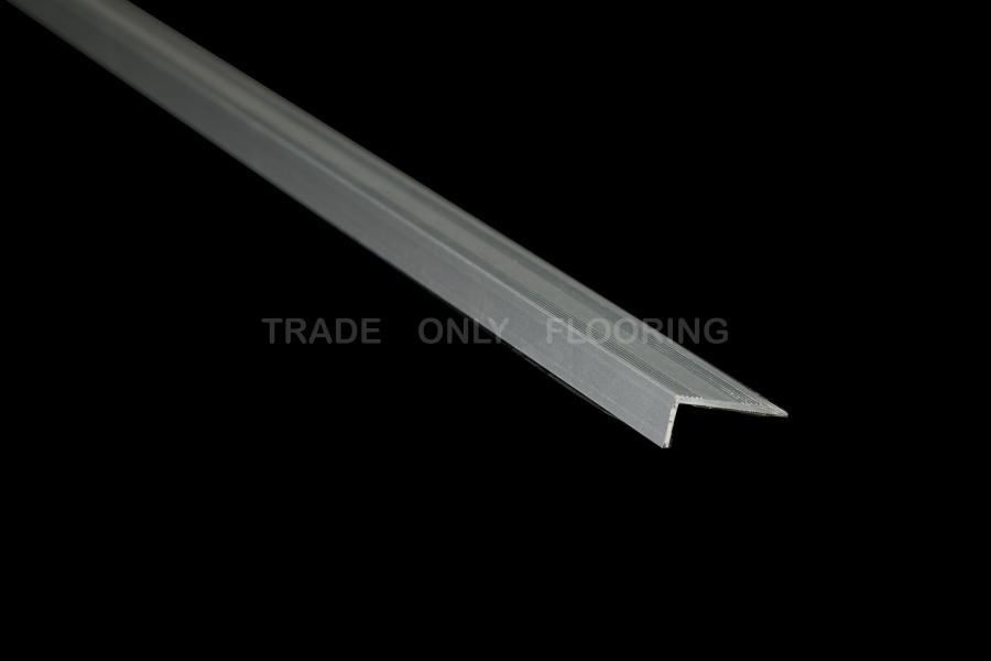 Stick Down Edge Profile In Matt Silver 9mm Just 239 191 189 77 43