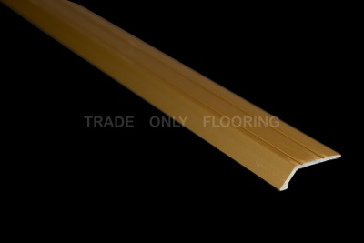 Zenith 289.9MGA Stick Down Sloping Edge 8mm Matt Gold (2.7m x 10 lengths)