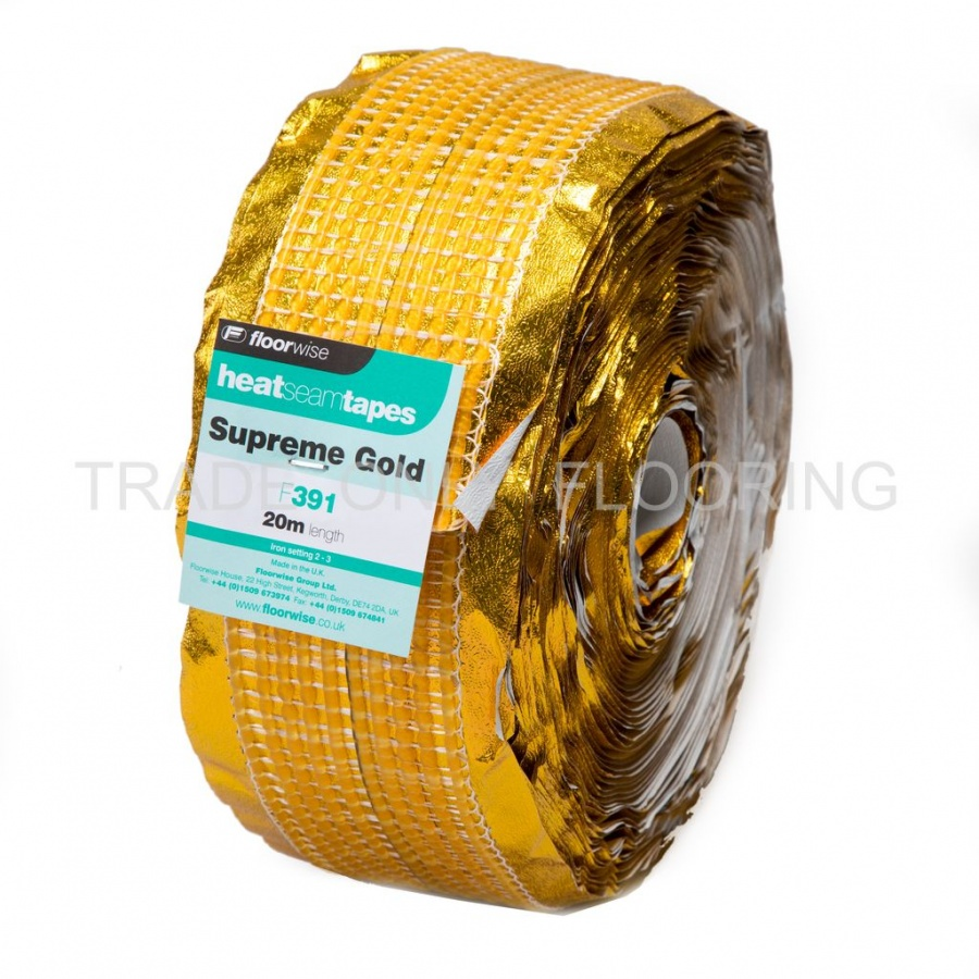 Heat Seam Tape Supreme Gold 20m Trade Only Flooring