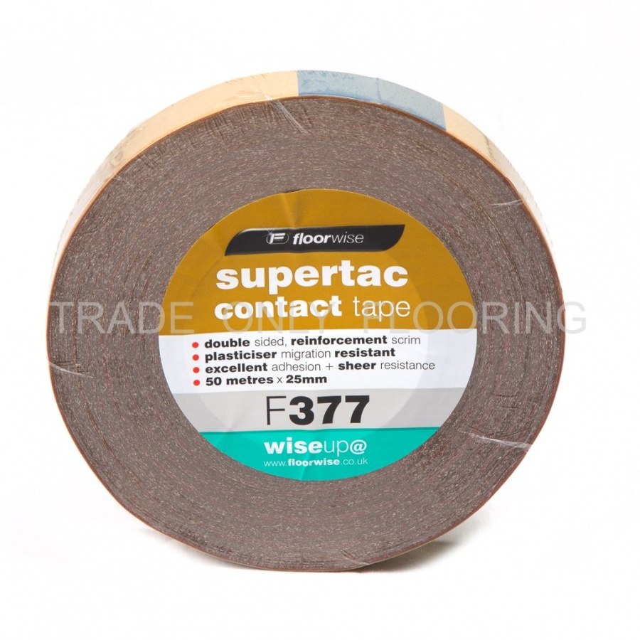 Contact Tape 25mm X 50m Trade Only Flooring Supplies