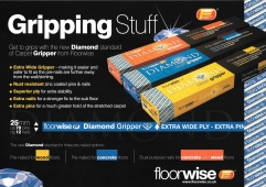 Floorwise Diamond Dual Purpose Gripper Medium Pin