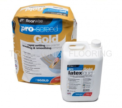 Floorwise F5Gold Pro-Screed Gold 20kg Bag / 5L Bottle