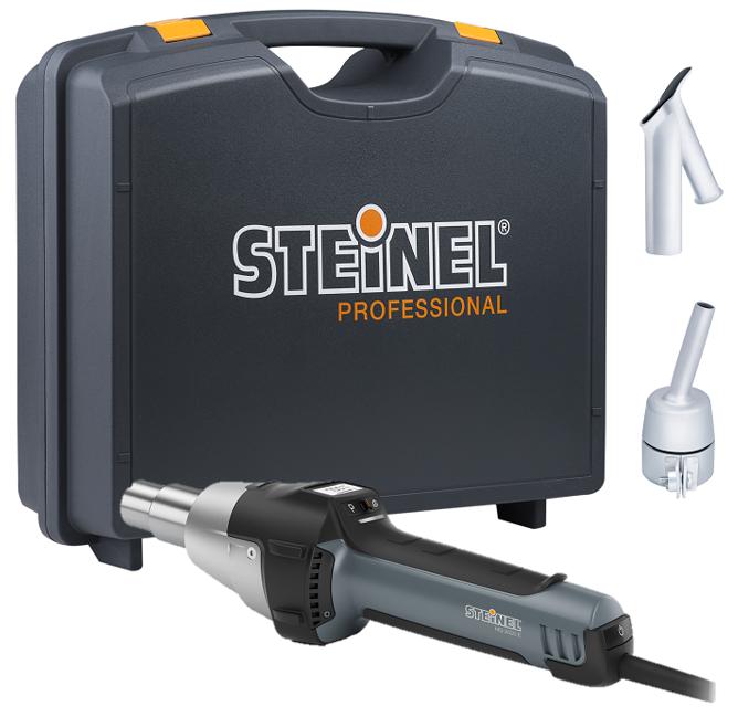 Steinel Hg2620e 240v Weld Gun Inc Nozzle Amp Case 239 191 189 325